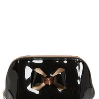 Ted Baker London 'Extra Large Bow' Cosmetics Case