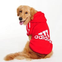 Big Dog Clothes Large Size Winter Dogs coat Hoodie  3XL-9XL