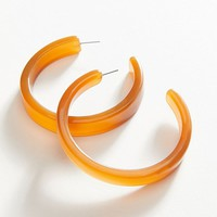 Joie Oversized Resin Hoop Earring | Urban Outfitters
