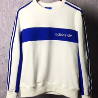 Adidas Originals Classic color embroidered hoodies