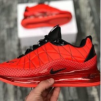 NIKE AIR MX 720 metal atmospheric cushion sports running shoes Red