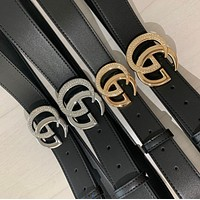 Gucci GG drill buckle belt