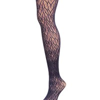 Glacier Two Toned Net Tights