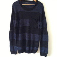 The Keeper Clothing  — RPM - Blue Stripe Cardi