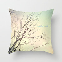 Togetherness Throw Pillow by Ally Coxon | Society6