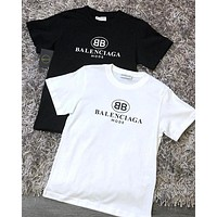 Balenciaga Women Men Hot Tunic T-shirt-1