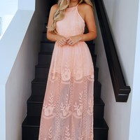 Say You Love Me Maxi: Peach