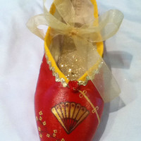 Chinese Nutcracker ... Decorated Pointe Shoe