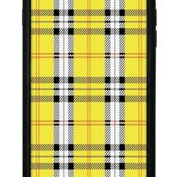 Yellow Plaid iPhone 6+/7+/8+ Plus Case