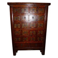 Pre-owned Antique Chinese Medicine Cabinet