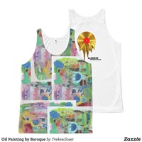 Oil Painting by Baroque All-Over Print Tank Top