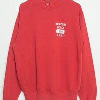 Erica Newport Beach 1984 U.S.A Sweatshirt - Graphics