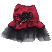 Qualified Hot Dog Bow Tutu Dress