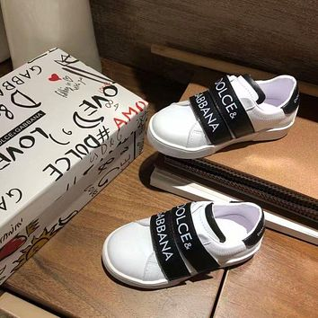 D&G Child Girls Boys shoes Children boots Baby Toddler Kids Child Fashion Casual Sneakers Sport Shoes