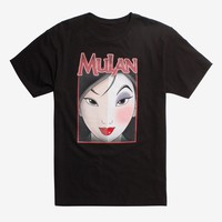 Disney Mulan Two Faces T-Shirt Hot Topic Exclusive