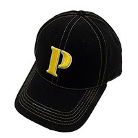 NFL Pittsburgh Steelers Yellow Stitching Cap, Black, One Size