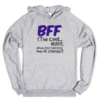 The Cool NERDY, Absolutely FANTASTIC One!-Heather Grey Hoodie