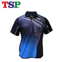 2018 TSP Table Tennis Jerseys  Japan T-shirts for Men / Women Badminton Ping Pong Cloth Sportswear Training T-Shirts