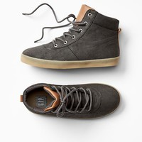 Gap Boys Hi Top Hiker Sneakers