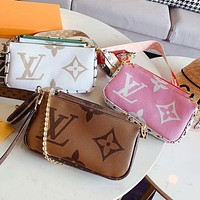 LV Louis Vuitton Trending Women Shopping Leather Satchel Shoulder Bag Handbag Crossbody