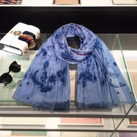 Dior Galaxy hundred-lap cashmere scarf