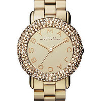 Marc by Marc Jacobs Watch, Women's Gold-Tone Stainless Steel Bracelet 36mm MBM3191 - All Watches - Jewelry & Watches - Macy's
