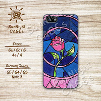 Disney, Beauty and the Beast, Rose, iPhone 5 case, iPhone 5C Case, iPhone 5S case, Phone case, iPhone 4 Case, iPhone 4S Case, Samsung, b&b02