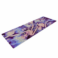"AlyZen Moonshadow ""WILD THINGS"" Purple Barbie Yoga Mat"
