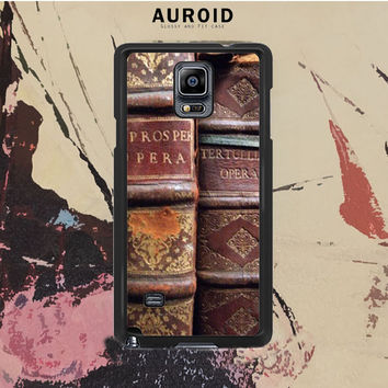 The Oldbook You Must Read Samsung Galaxy Note 3 Case Auroid