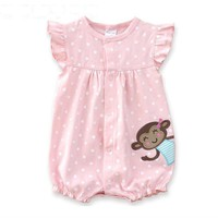 Baby Rompers Summer Baby Girls Clothing Cartoon Newborn Baby Clothes Roupas Bebe Short Sleeve Baby Girl Clothes Infant Jumpsuits