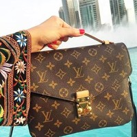 LV Louis Vuitton Trending Women Handbag Leather Crossbody Satchel Shoulder Bag