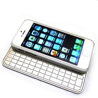 iContact IC-KB505 - iPhone 5/5S Ultra Thin Wireless Bluetooth Detacheable Alluminum Alloy Magnetic Keyboard