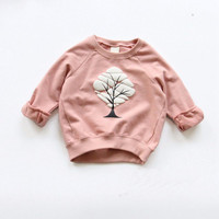 Boys Girls Sweatshirts Baby Children Clothes Cotton Casual Kids Sweatshirts Hoodies Tops