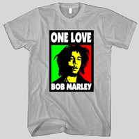 One Love Bob Marley Unisex T-shirt Funny and Music