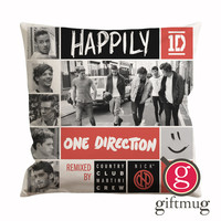 One Direction Happily Cushion Case / Pillow Case