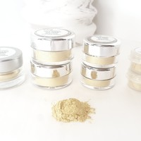 Gold Sparkle Loose Eye Shadow   Raw Beauty Minerals