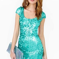 Gleam Sequin Dress