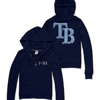 Tampa Bay Rays Bling Perfect Full Zip Hoodie - PINK - Victoria's Secret