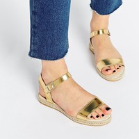 ASOS JOWETT Two Part Sandal Espadrilles