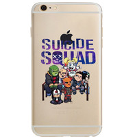 "Suicide Squad Jelly Clear Case for Apple iPhone 6/6s (4.7"")"