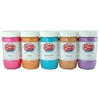 Cotton Candy Express - Cotton Candy Sugar - 5 Floss Sugar Flavor Pack - 12 Oz. Containers:Amazon:Grocery & Gourmet Food