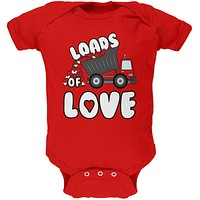Valentine's Day Truck Loads of Love Soft Baby One Piece