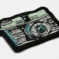 Camera Patches - Iron On Patches and Appliques - Sew On Patch - Photography Gifts - Photography Patch Art Patch Embroidered Iron On Applique