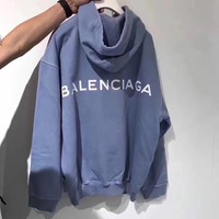 Balenciaga Long Sleeve Hedging Pullover Sweater Hoodies Tagre™