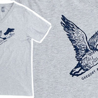 Gregory Alan Isakov: Shadow Duck V-Neck T-Shirt