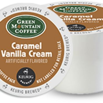 Caramel Vanilla Cream Coffee by Green Mountain Coffee® - Keurig.com