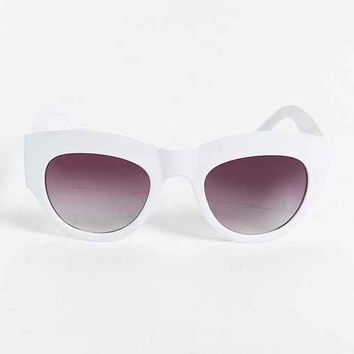 Wide Rimmed Round Sunglasses