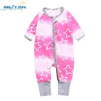 Kids baby bodysuits for newborns overall body with long sleeves children's clothing set cotton romper