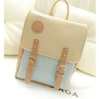 Hot Candy Colors Girls Chic Korea Rucksack Bags College School Bags:Amazon:Shoes