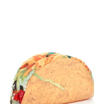 Taco Print Travel Pouch
